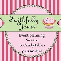 Faithfully Yours; Event  Planning, Sweets and Candy Tables