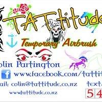 Tattitude   Airbrush Tattoo