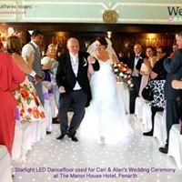 Weddings Wales Ltd Starlight Dance Floors