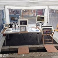 Local Photographers Market Stall in Helston