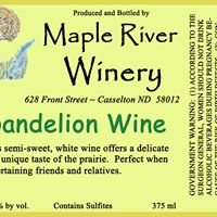 Maple River Winery Dandelion Wine
