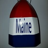 Maine Wooden Buoys