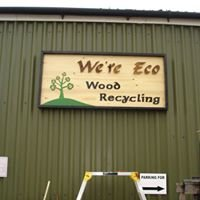 We're Eco wood recycling and upcycling