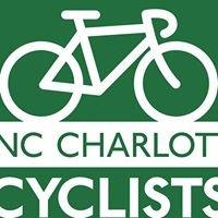 UNC Charlotte Cyclists