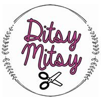 Ditsy Mitsy Bibs