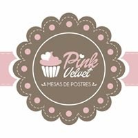 Pink Velvet Mesas de Postres