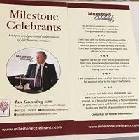 Milestone Celebrants