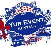 Yur Event Rental