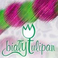 Biały Tulipan Rękodzieło