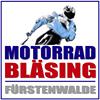 Motorrad-Bläsing