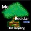 Me gusta reciclar/ I like recycling thumb