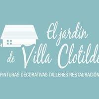 El jardín de Villa Clotilde