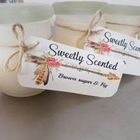 Sweetly Scented- soy candles and melts  handmade by Sarah