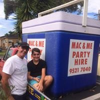 Mac and Me Party Hire