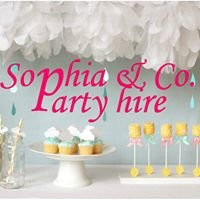 Sophia & Co Party Hire