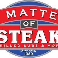 A Matter of Steak
