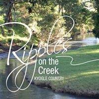 Ripples on the Creek