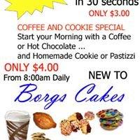 BORGS CAKES Pasta and Pastizzi