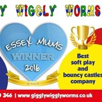 """Giggly Wiggly Worms Soft Play & Bouncy Castle Hire & """"Stay & Plays"""""""