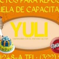 Productos de reposteria yuli y escuela de capacitacion
