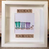 Scrabbletastic frames by chântelle