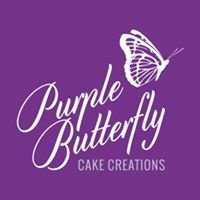 Purple Butterfly Cake Creations