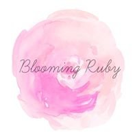 Blooming Ruby - Handmade crafts