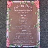 Jodie Maddison - Freelance hairdresser