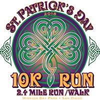 St. Patrick's Day 10K Run, 4 & 2 Mile Fun Run