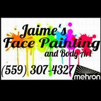 Jaime Face Painting