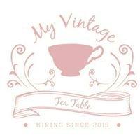 My Vintage Tea Table