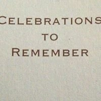 Celebrations to Remember