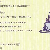 Made with Love~ specialty cakes ~
