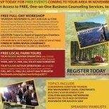 """Growing Your AgNature Tourism Business"" Workshops"