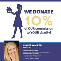 Give Back Girl Ginger Walker of Coldwell Banker Elite Stafford Real Estate