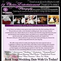 1st Choice Entertainment   Owner/ DJ Cathy