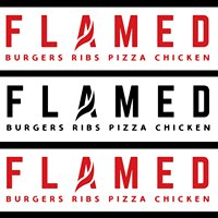 Flamed Burgers