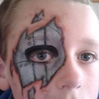 Wild Child Face Painting