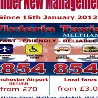 Victoria Taxis of Meltham, Huddersfield