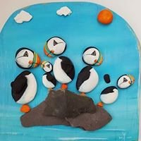 Deborah Kempton, Anglesey Pebble Art Designs at Ta Dah Artworks.