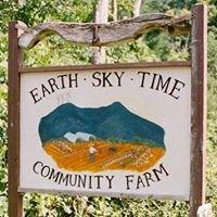 Earth Sky Time Community Farm