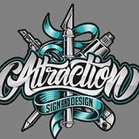 Attraction Sign & Design