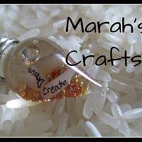 Marah's Crafts