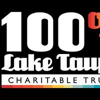 100% Lake Taupo Charitable Trust