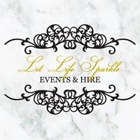 Let Life Sparkle Events & Hire