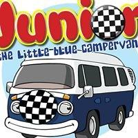 Junior the Little Blue Campervan