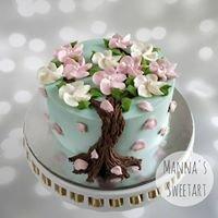 Manna's Sweetart Cakes