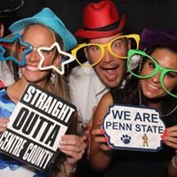 Blue White Photo Booths