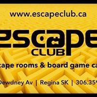 Escape Club Escape Rooms & Board Game Cafe