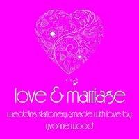 Love & Marriage - Wedding Stationery